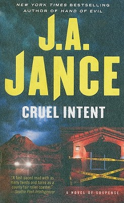 Cruel Intent By Jance, Judith A.