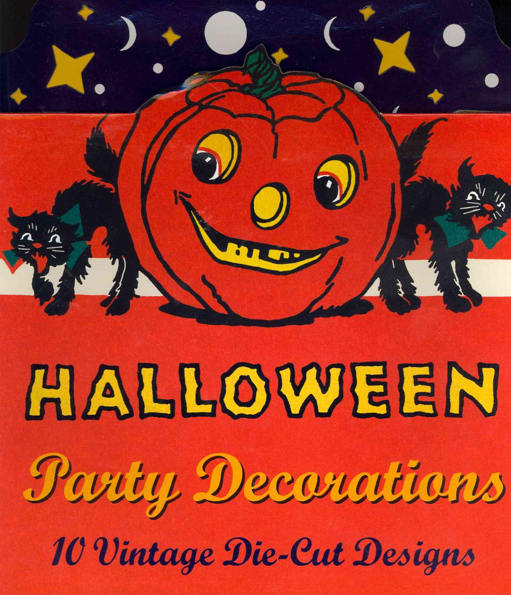 Vintage Halloween Cardboard Cutouts By Laughing Elephant Publishing (COR)/ Unknown (ILT)